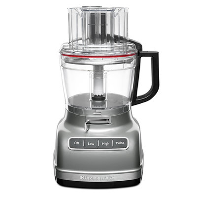 KITCHENAID 11 Cup Food Processor Exact Slice Contour Silver