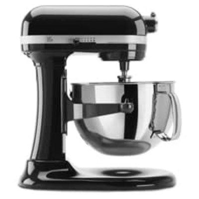 KITCHENAID Onyx Black Professional 600 Series 6 Quart Bowl-Lift Stand Mixer