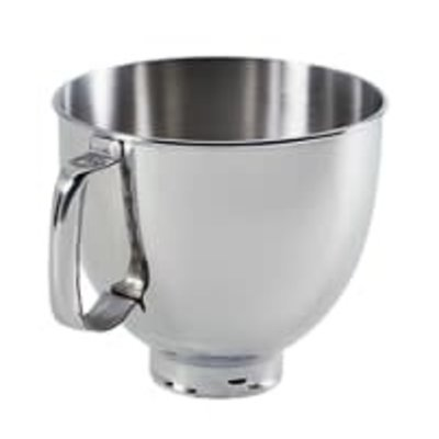 KITCHENAID Other 5-Qt. Tilt-Head Polished Stainless Steel Bowl With Comfortable Handle
