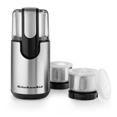 KITCHENAID Onyx Black Coffee And Spice Grinder