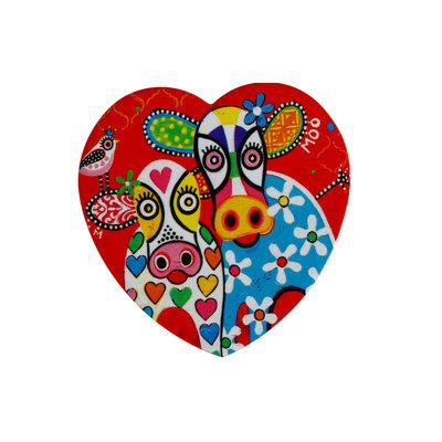 MAXWELL WILLIAMS Love Moo Day Coaster