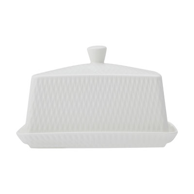 MAXWELL WILLIAMS Diamond Butter Dish