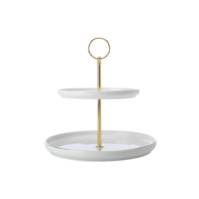 MAXWELL WILLIAMS Oro Cake Stand 2-Tier