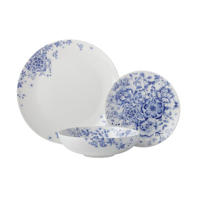 MAXWELL WILLIAMS Toile De Fleur Dinner Set (12Pc)