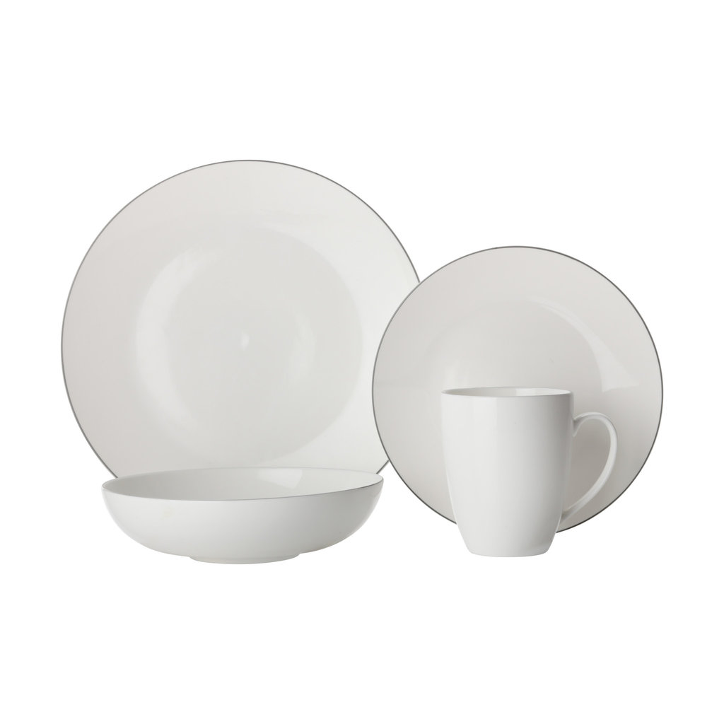 MAXWELL WILLIAMS Edge Dinner Set (16Pc)