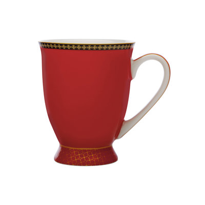 MAXWELL WILLIAMS Classic Footed Mug Red