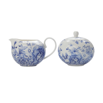 MAXWELL WILLIAMS Toile De Fleur Sugar & Creamer