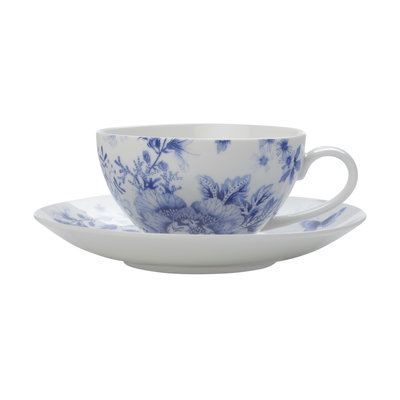 MAXWELL WILLIAMS Toile De Fleur Cup And Saucer