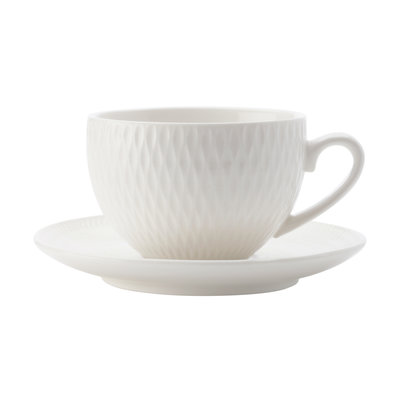 MAXWELL WILLIAMS Diamond Demi Cup And Saucer