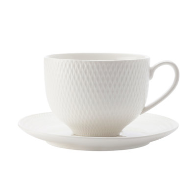 MAXWELL WILLIAMS Diamond Cup And Saucer