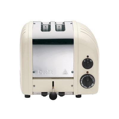 DUALIT Newgen 2 Slot Toaster Canvas White