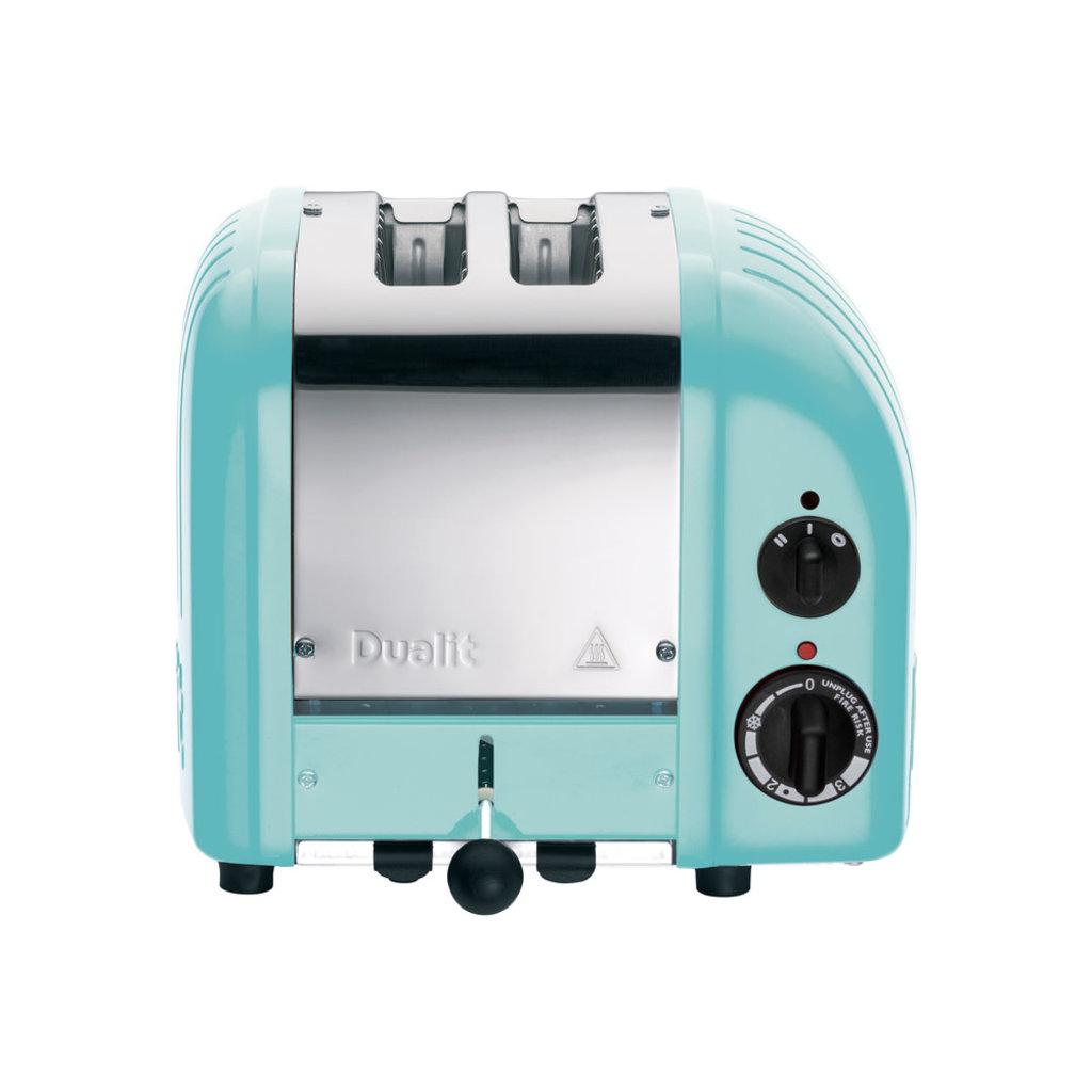 DUALIT Newgen 2 Slot Azure Blue Toaster