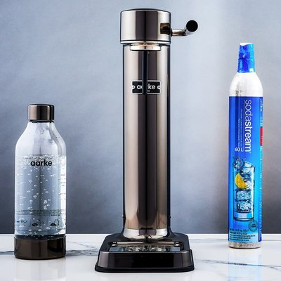 AARKE Sparkling Water Carbonator Ii Black Chrome