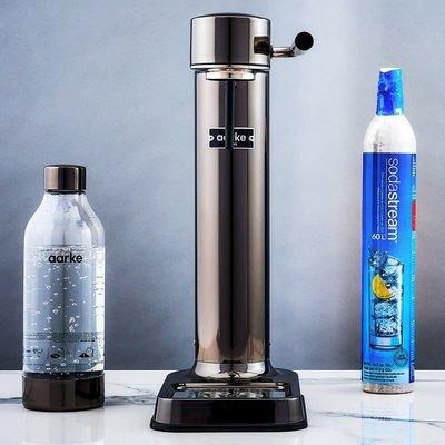 AARKE Sparkling Water Carbonator Ii Chrome Noir
