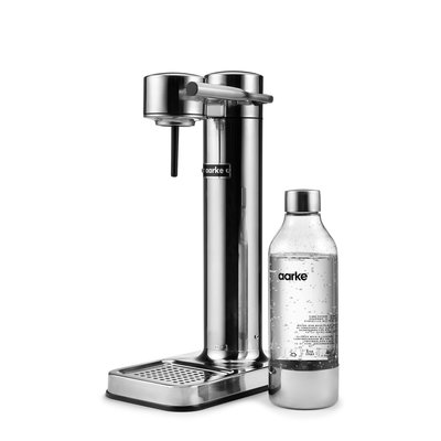 AARKE Sparkling Water Carbonator Ii Polished Steel