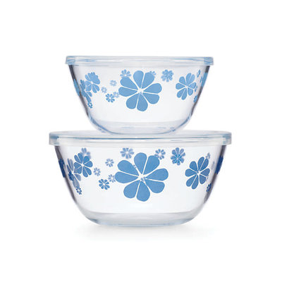 KATE SPADE Ksk Nolita Blue Serve & Store Set Of 2