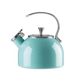 KATE SPADE Ksk Tea Kettle Turquoise 2.5 Qt