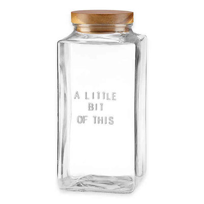 KATE SPADE Ksk Glass Canister Little Bit Of This
