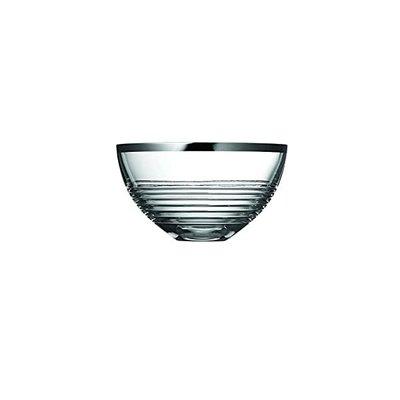 WEDGWOOD Vera Wang Grosgrain Nouveau Bol Crystal 8''