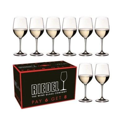 RIEDEL Vinum Viognier / Chardonnay Set/8