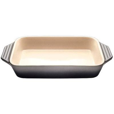 LE CREUSET Plat Rectangulaire Grès (Céramique) Oyster 1.7 L - 33.4 Cm