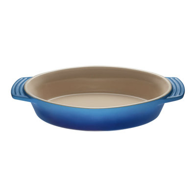 LE CREUSET Plat Ovale Grès (Céramique) Blueberry 1.7 L - 34 Cm