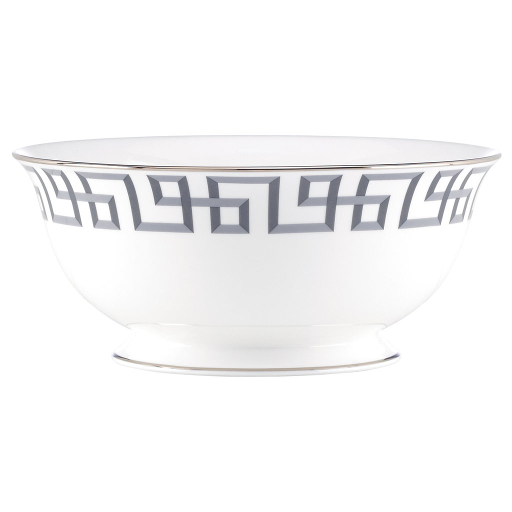 Darius Silver Serving Bowl