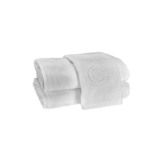 Auberge Bath Towel White ''C'' 30 X 60''