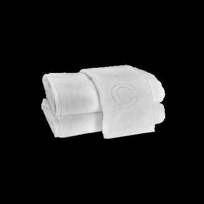MATOUK Auberge Bath Towel White ''C'' 30 X 60''