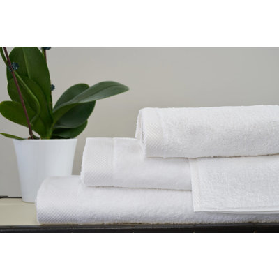 Bath Towel Single Ply White Each 27 X 54'' - 600 Gsm