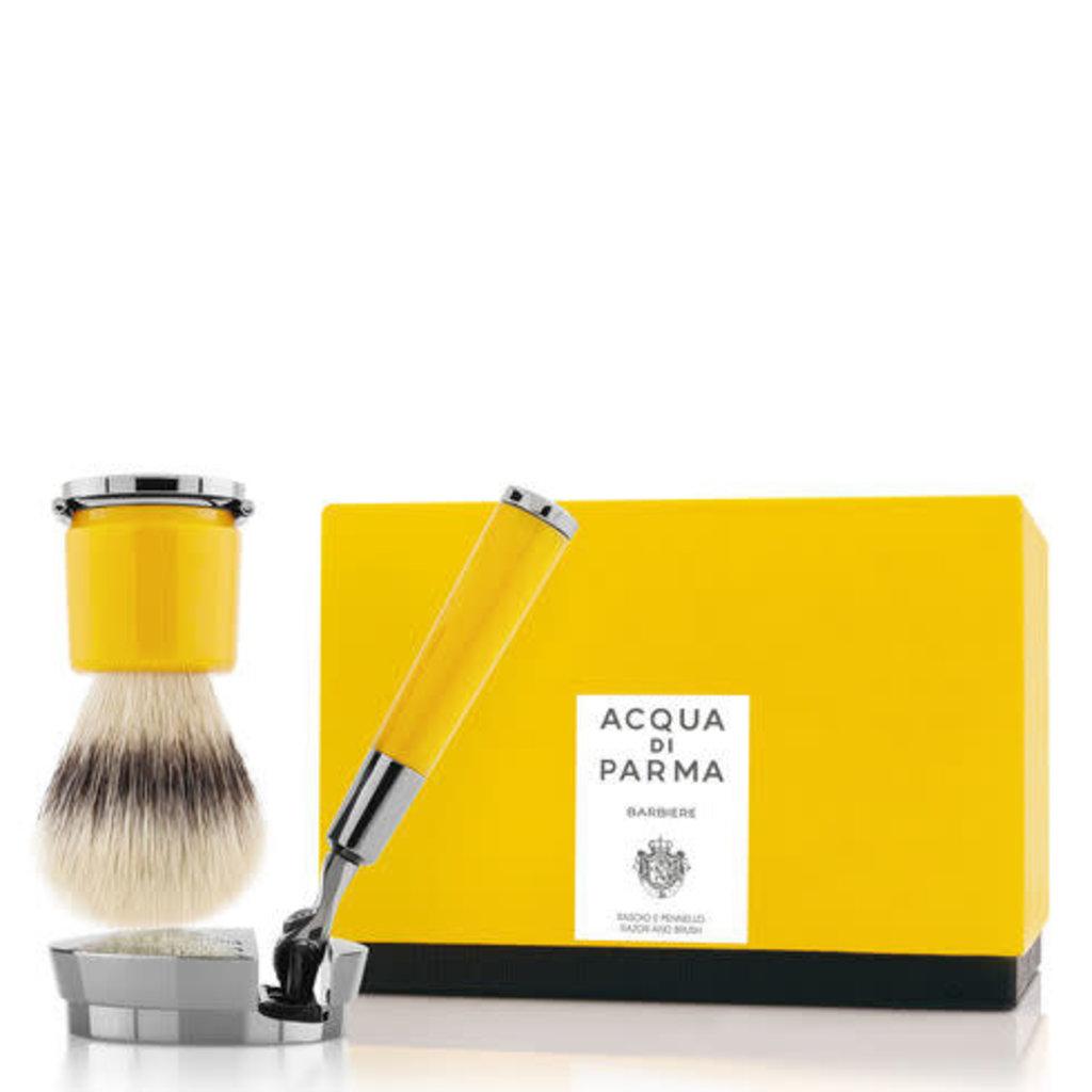 ACQUA DI PARMA Barbiere Deluxe Yellow Stand