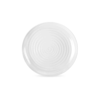 PORTMEIRION Sophie Conran White Coupe Dinner Plate Set/4 - 10.5""
