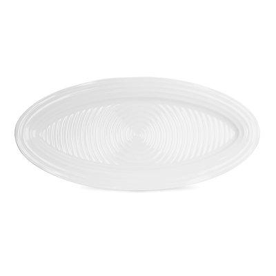 PORTMEIRION Sophie Conran White Fish Platter 21''