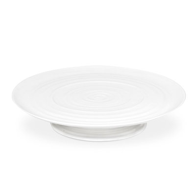 Sophie Conran White Footed Cake Plate 12.75''