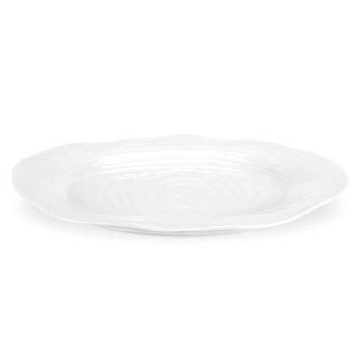 PORTMEIRION Sophie Conran White Large Oval Platter 17''
