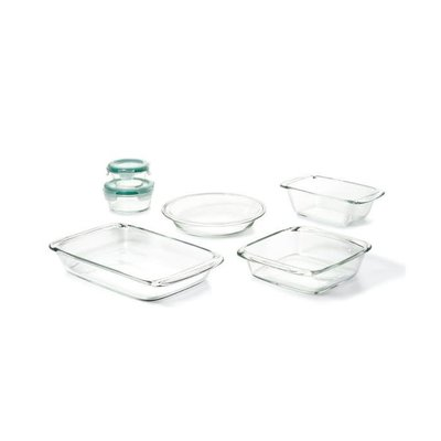 OXO Glass Bake Serve & Store Ensemble de 8 Morceaux