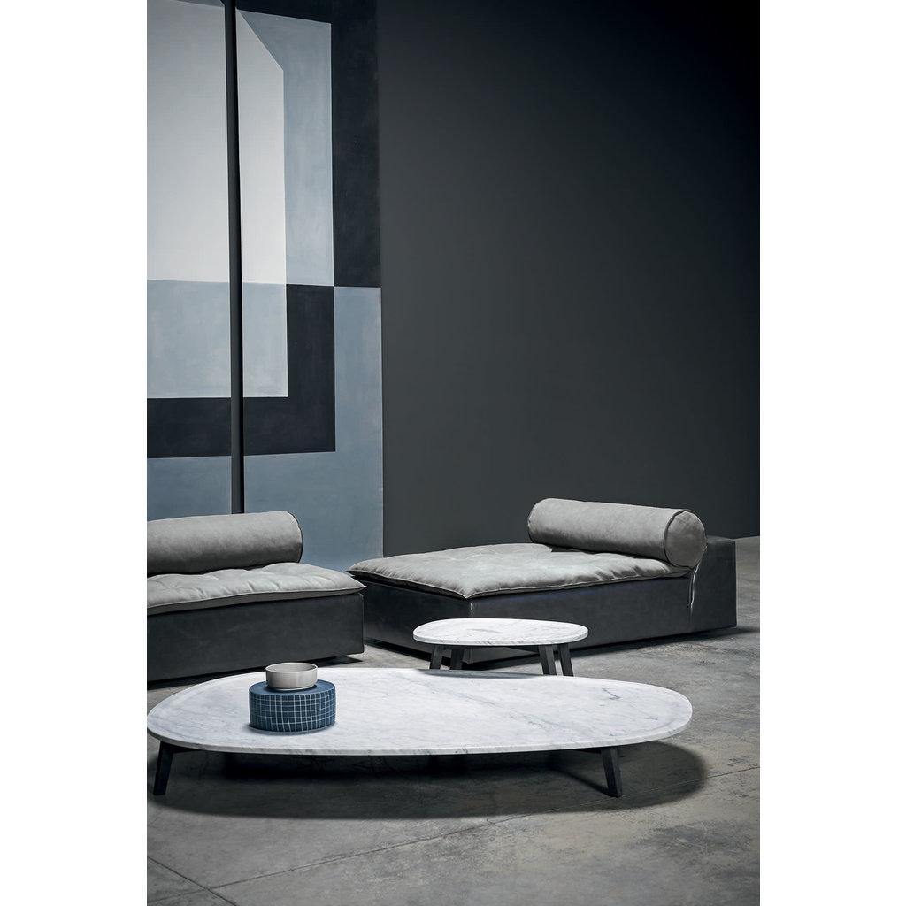 BAXTER Vietri Small Table White Marble 66 X 52''