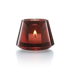 BACCARAT Harcourt Our Fire Baby Votive Red