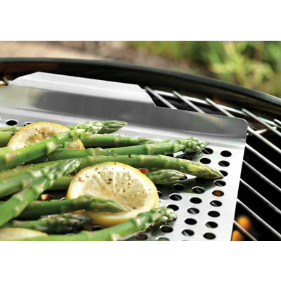 FOX RUN Grill Grid With Handles Stainless Steel 17 X 11""