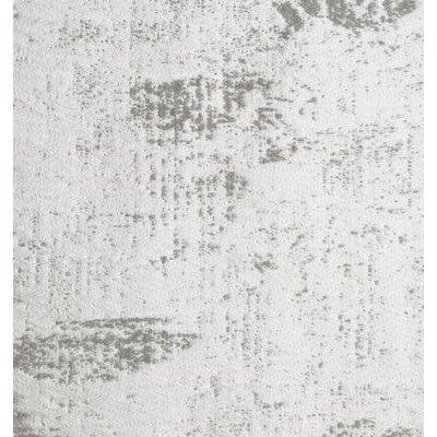 SFERRA Tuccia Grand Lit Full Coverlet Blanc / Gris 96 X 100''
