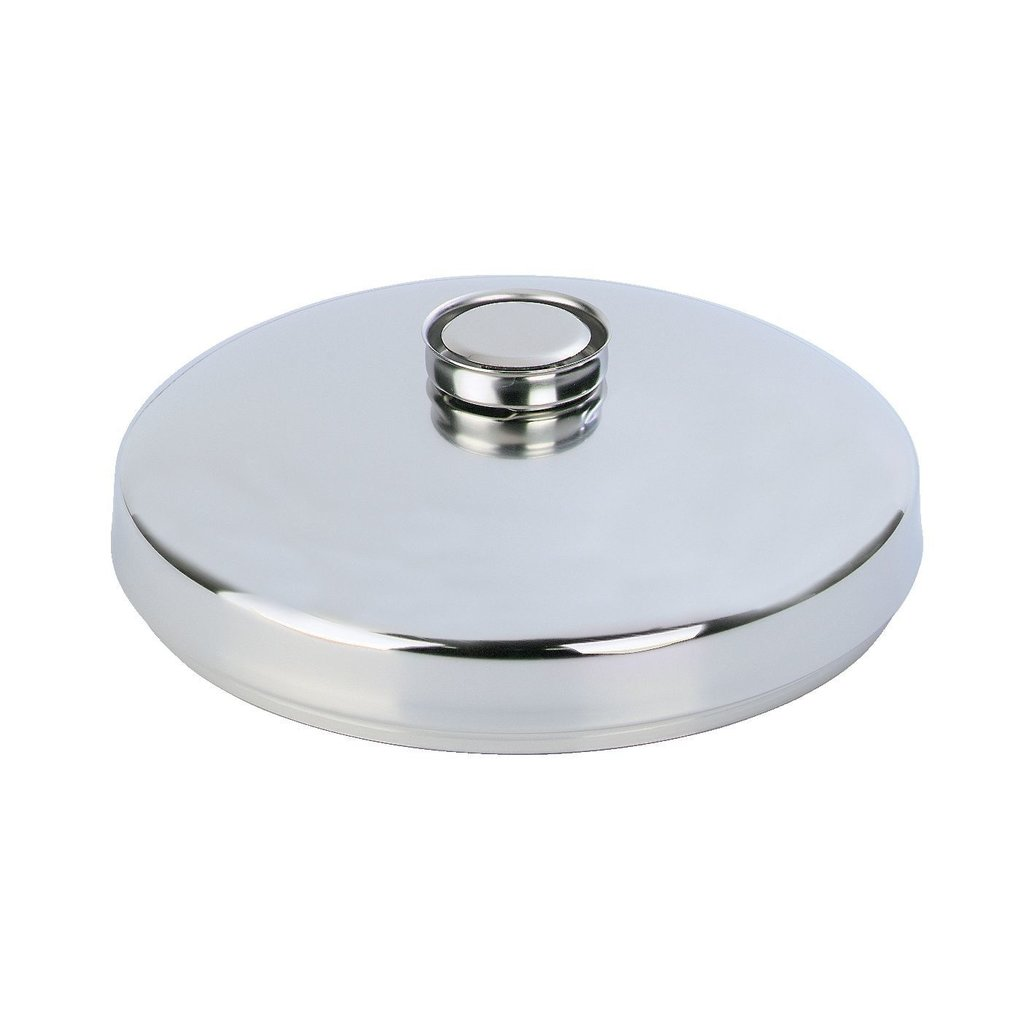 """DEMEYERE Stainless Steel 12.5"""" Wok Lid With Steam Escape"""