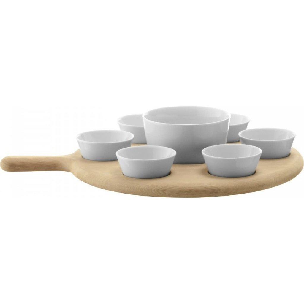 LSA Paddle Tapas Set & Oak Paddle 43 Cm -