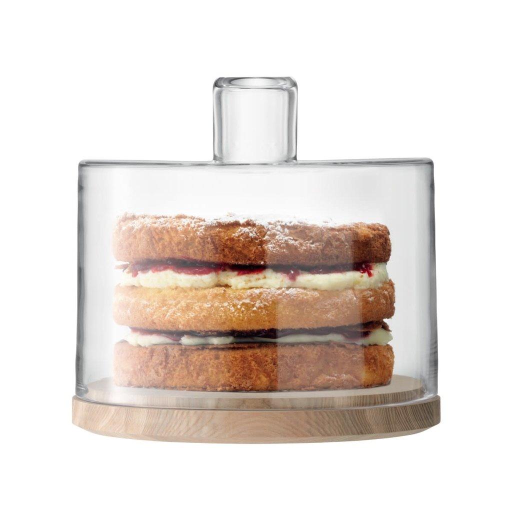 LSA Lotta Cake Dome & Ash Base 25.5 Cm