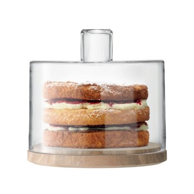 LSA Lotta Cake Dome & Ash Base 25.5 Cm