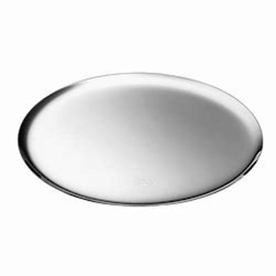 CHRISTOFLE Silver Time Round Silver Plated Platter 13 15/16''