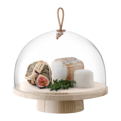 Ivalo Ash Stand With Dome Clear 28 X 23 Cm