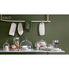 LSA Ivalo Container & Ash Lid Clear 11 Cm