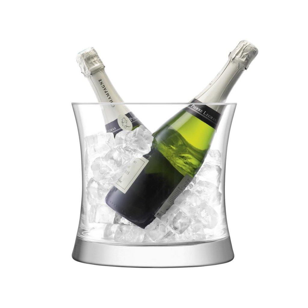 LSA Moya Dual Champagne Bucket Clear 24 Cm
