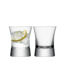 LSA Moya Tumbler Glass Clear Set/2 - 290 Ml