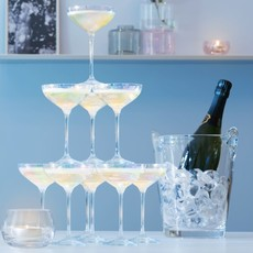 LSA Tour À Champagne Perlée Ensemble De 10